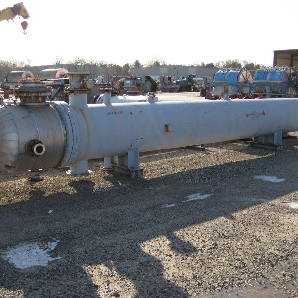 2100 Sq. Foot Manning & Lewis U-Tube Heat Exchanger