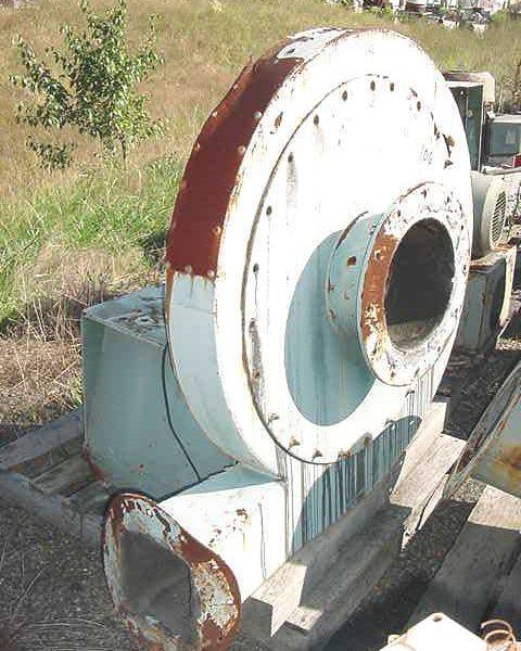 75 HP Twin City Fan & Blower Company Air Ring Blower