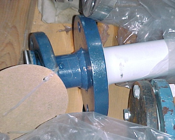 UNUSED    TEFLON THERMOWELL 3'X72″L