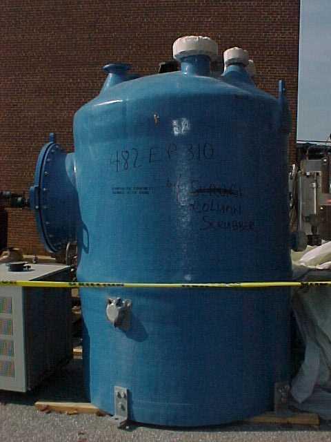 Used quot rl industries psi fiberglass vertical