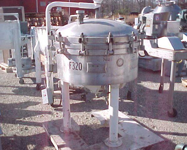 41 Sq. Foot Sparkler Vertical Filter Tank