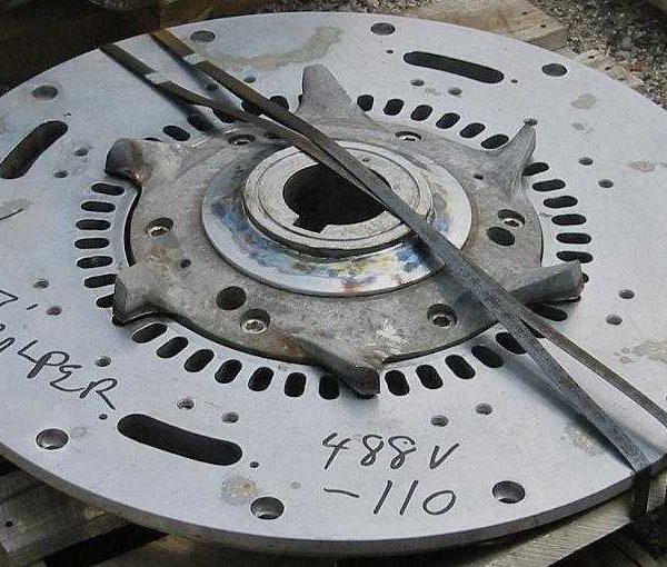 21″ Diameter Rotor for 7′ Beloit Shark Hydrapulper