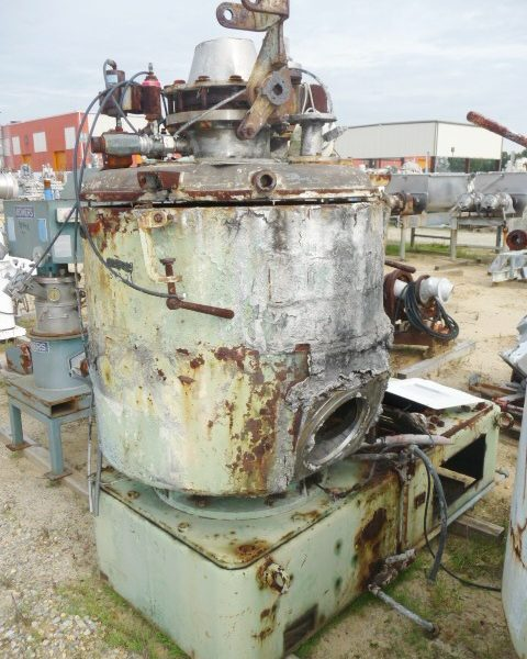 500 Liter Prodex Henschel Model 115JSS Stainless Steel High Intensity Mixer