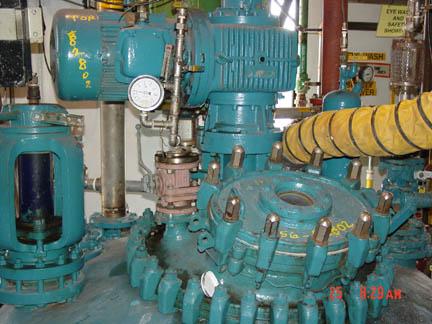 2,000 Gallon 100 Internal, 90 Jacket Pfaudler Glass Lined Reactor