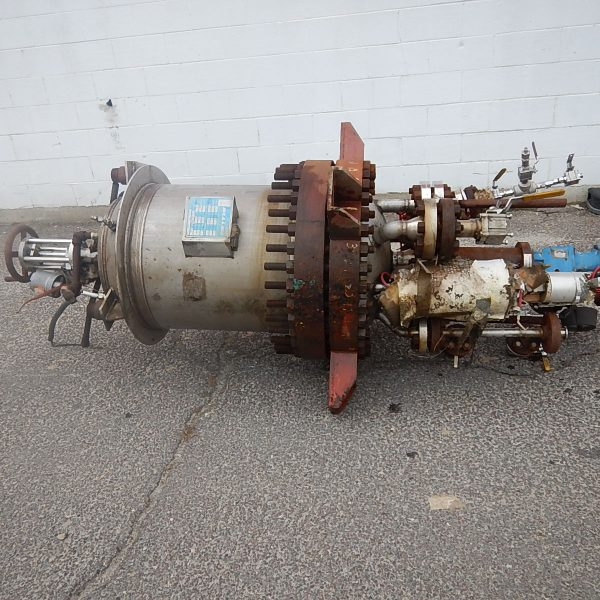 50 Gallon 180 PSI Internal, 150 PSI Jacket 316 Stainless Steel Reactor