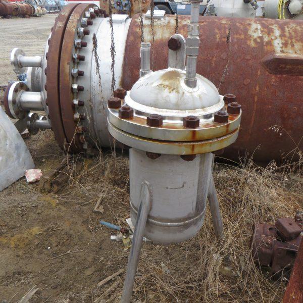 5 Gallon Stainless Steel Pressure Vessel, 270 PSI