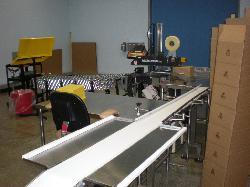 8″ Wide x 10′ Long Dorner Belt Conveor