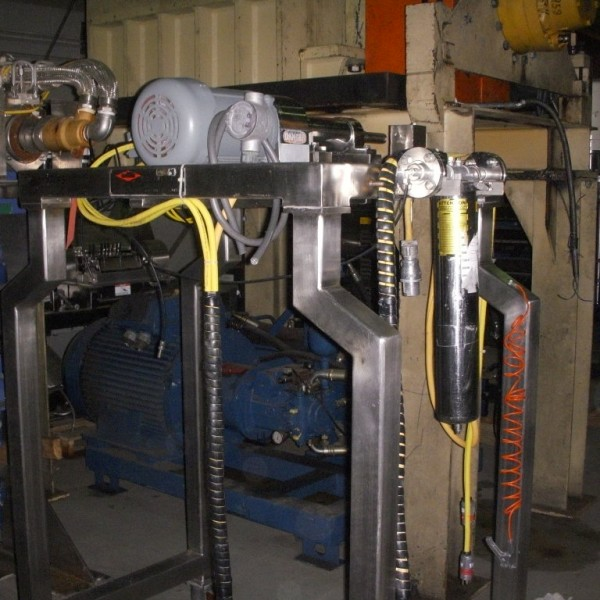 5 HP Stainless Steel Fitzmill Model D6A Comminuting Machine
