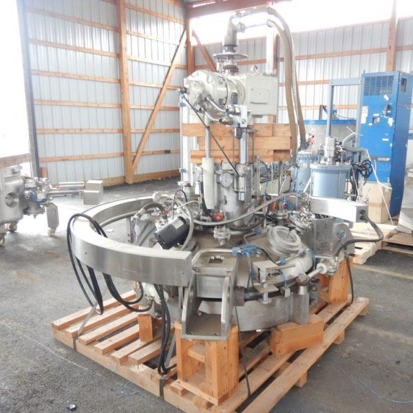 41″ Dia. 100 Gallon Cogeim Hastelloy Vacuum Pan Dryer