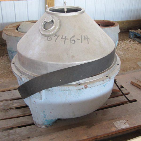 Alfa Laval FEUX 512-31C-60 Nozzle Centrifuge