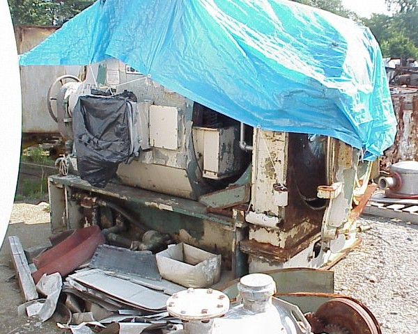 42″ Sprout Waldron Model 42-1B Single Disc Refiner