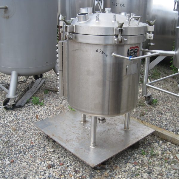 40 Gallon 50 PSI Internal Stainless Steel Kettle