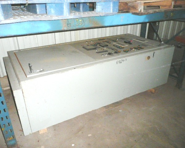 Control Panel for High Intensity Mixer Cooler Automatic Operator