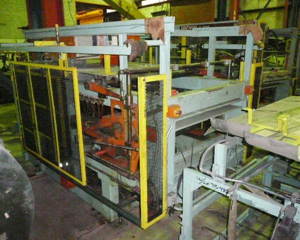 Brown 43″ X 12.5″ Horizontal Mechanical Trim Press