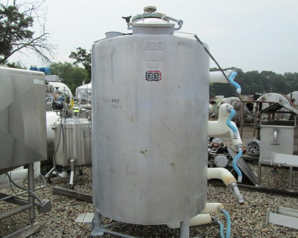400 Gallon 100 PSI Internal Stainless Steel Kettle
