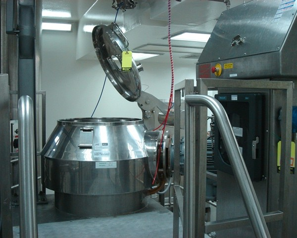 Niro Fielder Model PMA-300 Stainless Steel High Shear Granulating Mixer