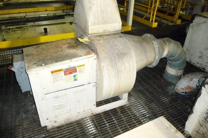 New York Blower Pressure Blower : Used new york blower model aluminum pressure