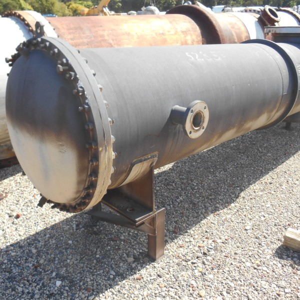 2100 Sq. Foot Graham Manufacturing Horizontal Shell and Tube Heat Exchanger
