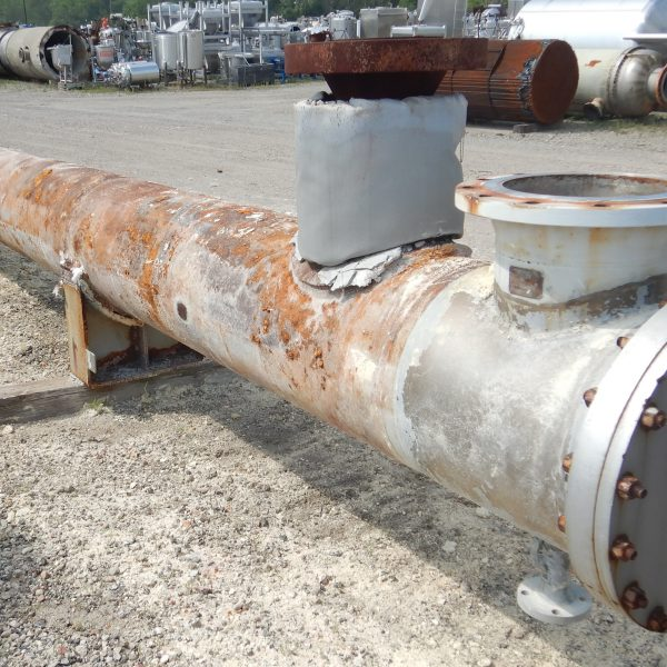 1798 Sq. Foot Heat Exchanger Design Inc. Horizontal Shell and Tube Heat Exchanger