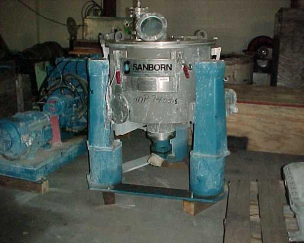 26″ X 12″ Sanborn Stainless Steel Basket Centrifuge