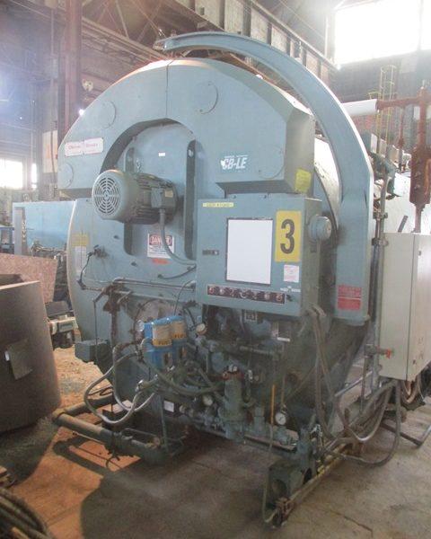 300 HP 150 psi Cleaver Brooks Model CB-100-300-150 Packaged Steam Boiler