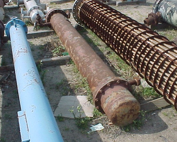 125 Sq. Foot Patterson Kelley Horizontal Shell and Tube Heat Exchanger