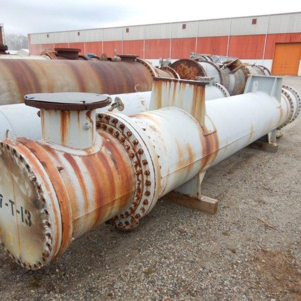 1779 Sq. Foot Roark Enterprises Inc. Horizontal Shell and Tube Heat Exchanger