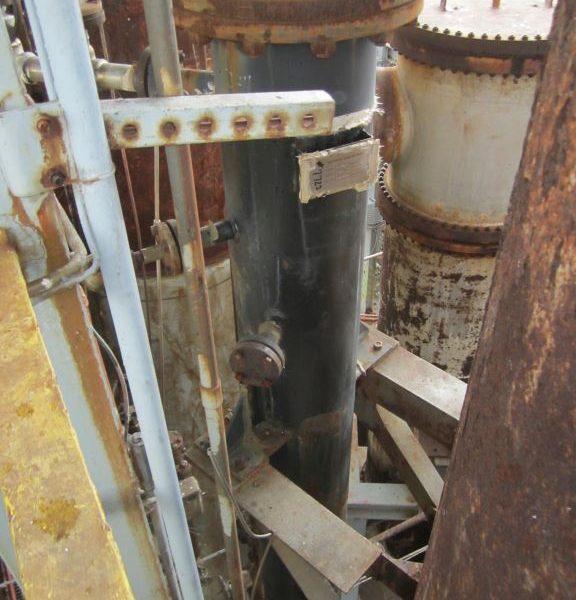 14″ X 16′ Roark Enterprises, 175 psig, Carbon Steel Column