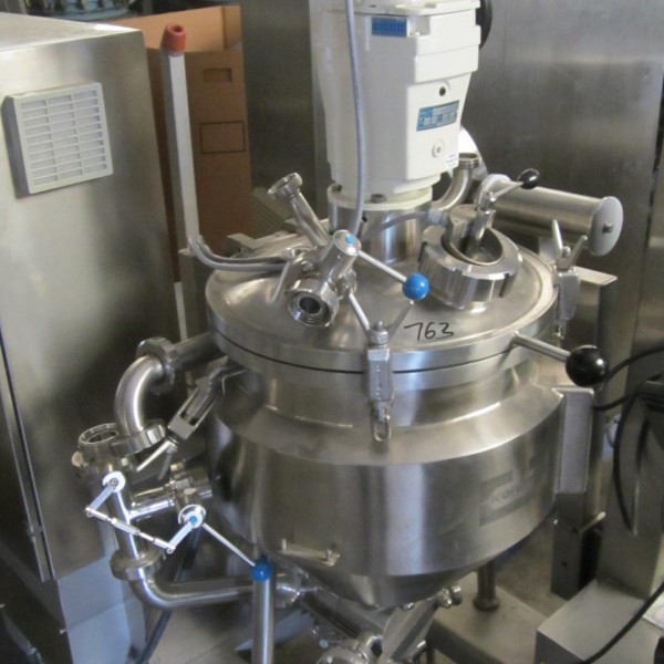 12 Gallon .37 KW Koruma Stainless Steel Mixer
