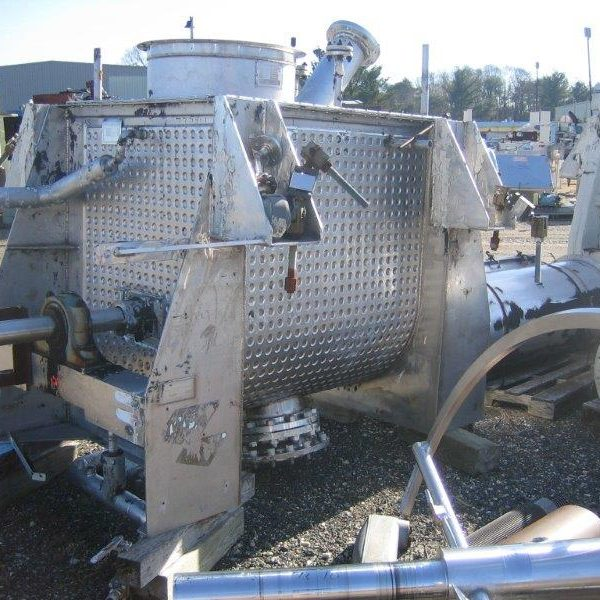 30 Cubic Foot Marion Stainless Steel Paddle Mixer