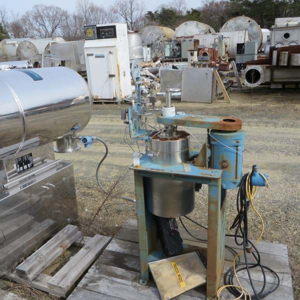 1 GAL SS 5500 PSI AUTOCLAVE ENG 1/4 HP