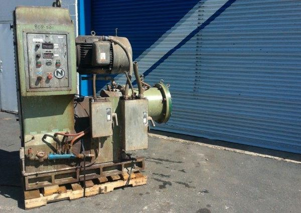 7 Gal. Netzsch Model LMC/LMZ25 Media Grinding Mill
