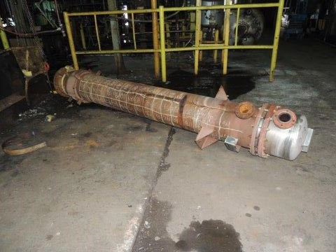 320 Sq. Ft. Doyle & Roth Shell and Tube Heat Exchanger
