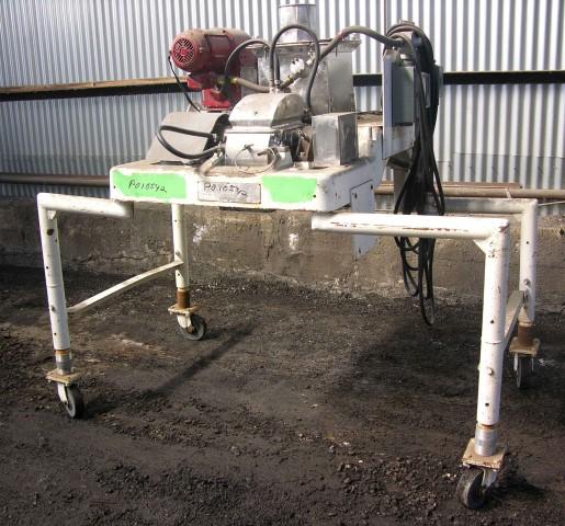 10 HP Stainless Steel Fitzmill Model DA0-6 Comminuting Machine
