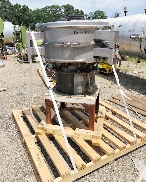 1 Deck Sweco Mdl LS30S68 Stainless Steel Screener