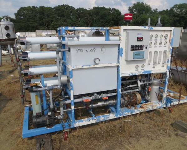 Res-Cem Corp. Double Pass Reverse Osmosis Membrane Filtration Unit
