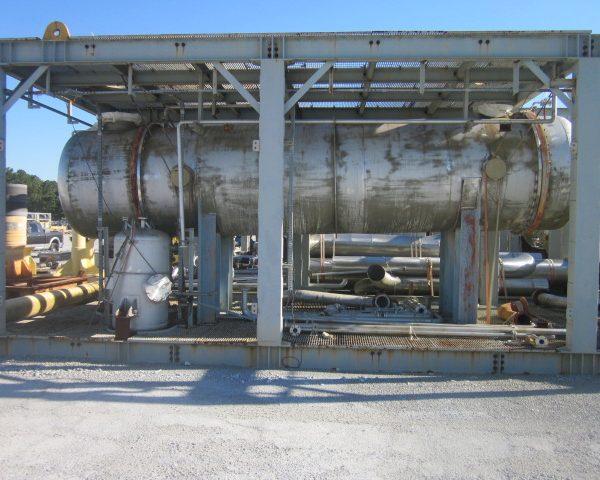7782 Sq. Foot Praj Ind. Horizontal Shell and Tube Heat Exchanger Unused