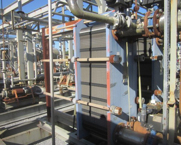 275 Sq. Ft. Alfa Laval Stainless Steel Plate Heat Exchanger Unused
