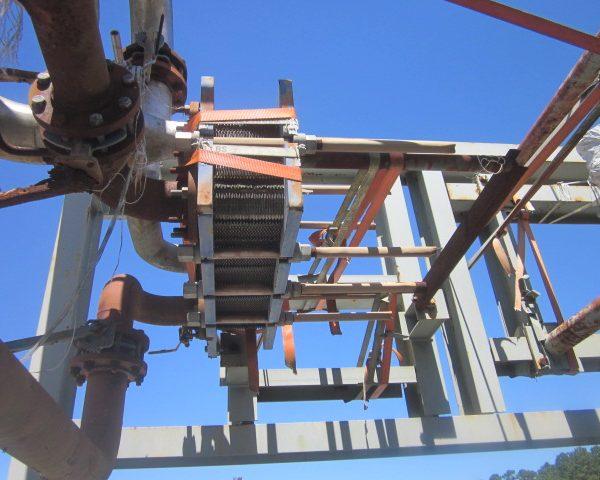 97 Sq. Ft. Alfa Laval Stainless Steel Plate Heat Exchanger Unused