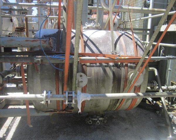 619 Gallon Praj Ind Vertical 304L Stainless Steel Pressure Vessel Unused