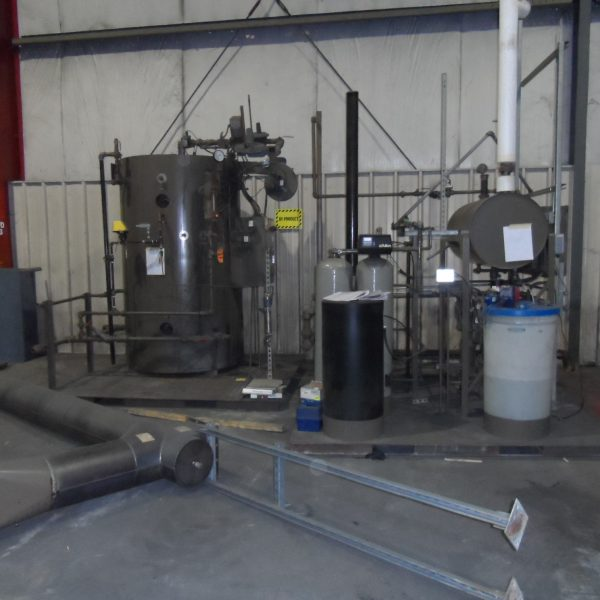 60 HP 150 PSI Fulton VMP60 Natural Gas Fired Steam Boiler