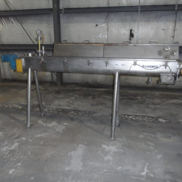 S. Howes Mdl. MCS-8 Stainless Steel Continuous Pin Mixer