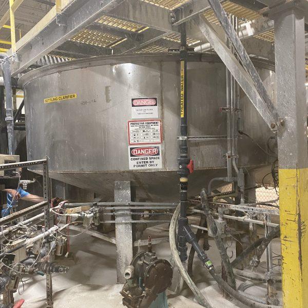 4000 Gallon Stainless Steel Tank