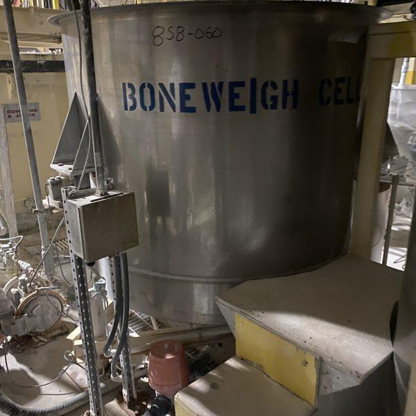 100 Gallon Stainless Steel Vertical Tank