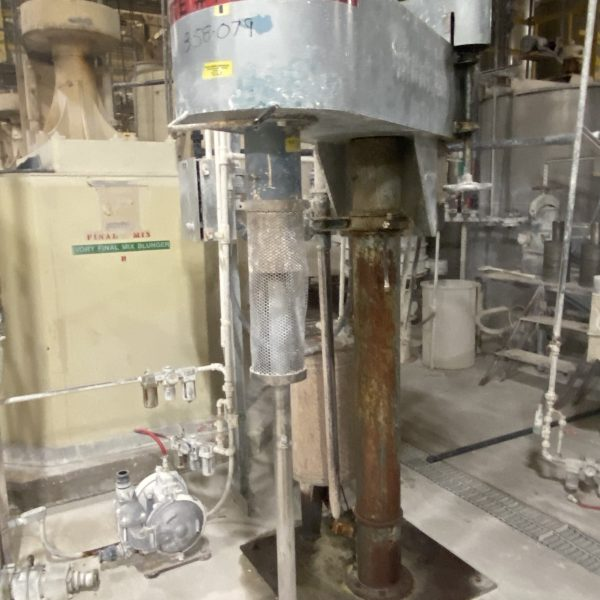 15 hp Stainless Steel Dispersion Mixer