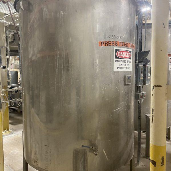 1200 Gallon Stainless Steel Tank