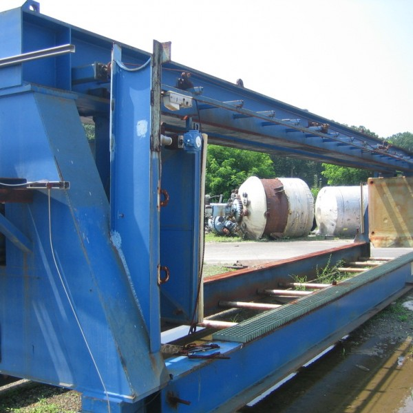 59″ X 59″ Dryvac Membrane Filter Press