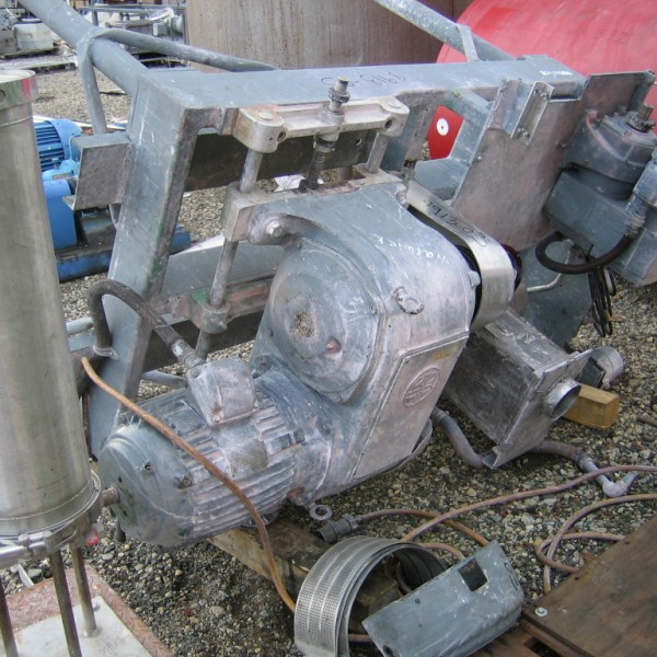10HP Stainless Steel Fitzpatrick Model D6 Comminuting Machine