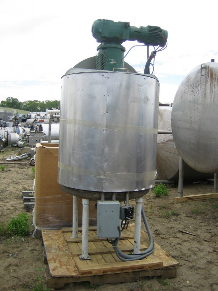 Used 175 Gallon Stainless Steel Mix Tank 36 Quot Dia X 42
