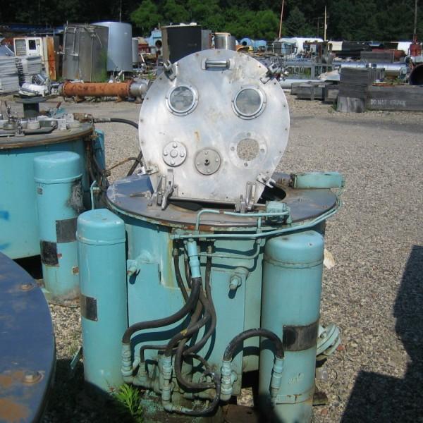30″ X 18″ Tolhurst Halar Lined Basket Centrifuge
